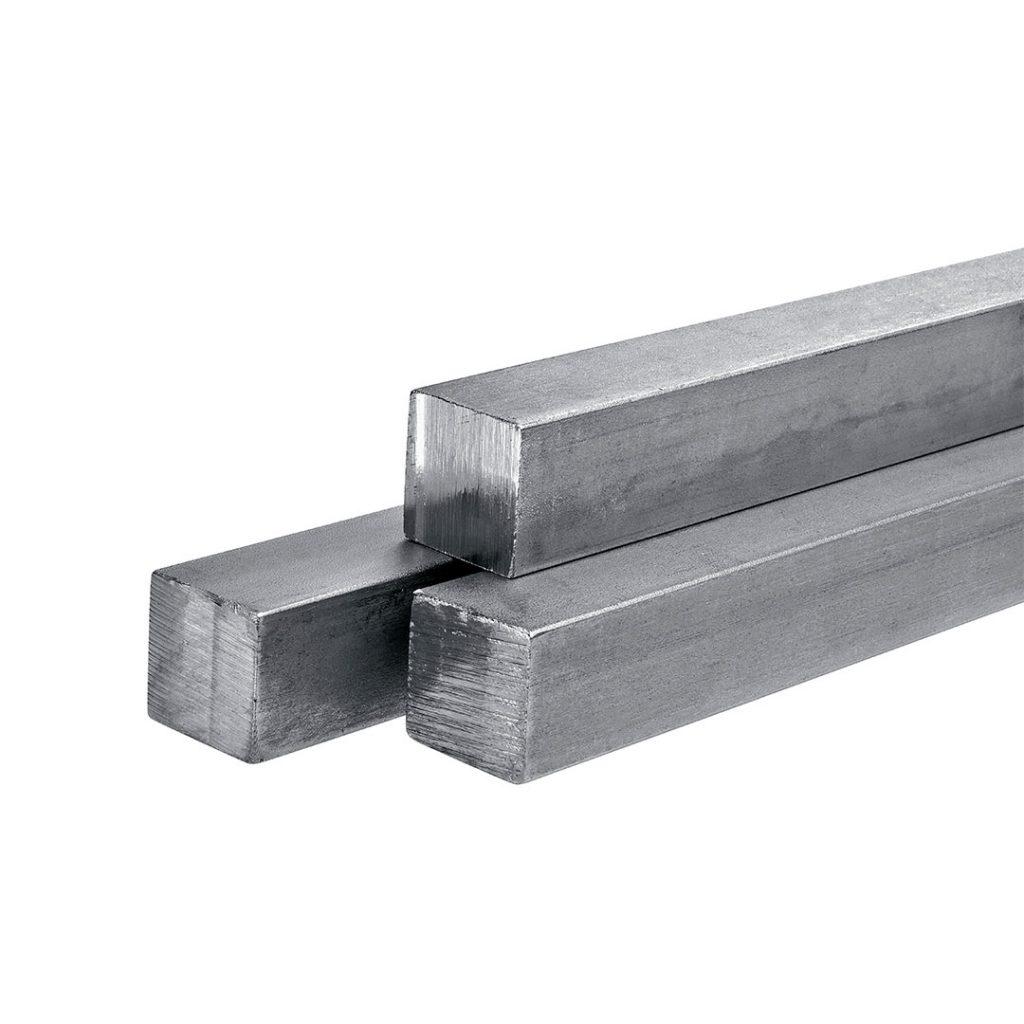 barras de aço inox quadradas